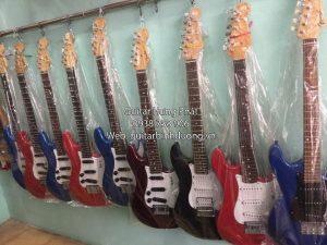 Cửa hàng bán đàn guitar điện, guitar điện phím lõm giá rẻ tại bình dương