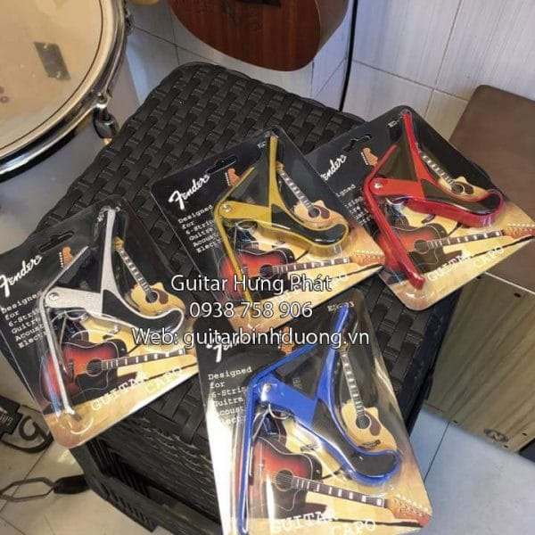 Bán capo guitar giá rẻ tại Bình Dương - Nhạc Cụ Hưng Phát